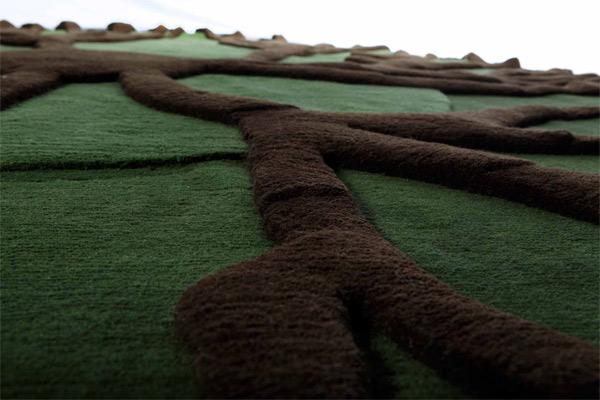 La alfombra Roots de Matali Crasset