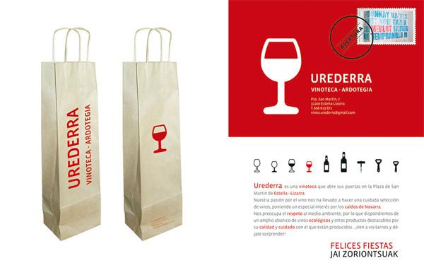 vinacoteca Urederra Diseño Gráfico de Cristina Vergara