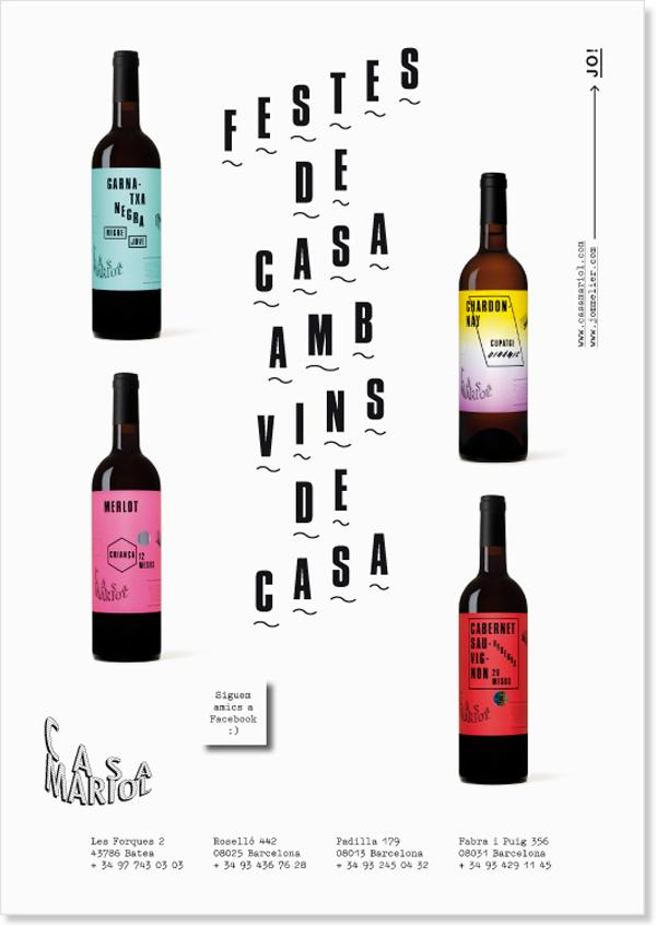Alba Rosell y Santi Fuster, Yes We Wine para Casa Mariol