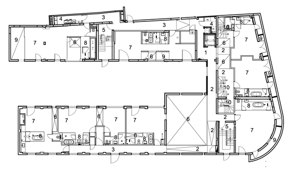 Hotel waterhouse de neri hu refugio industrial en for Hoteles en planta
