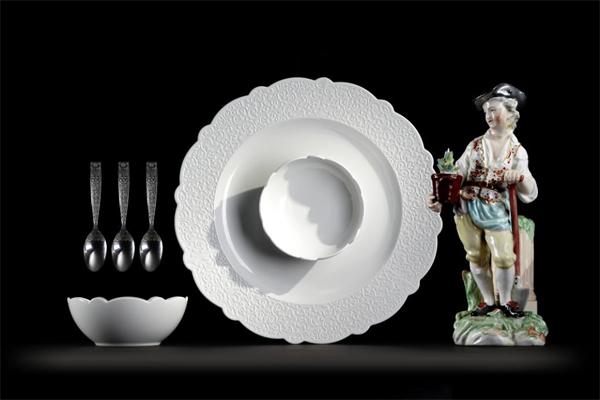 Servicio de mesa Dressed por Marcel Wanders