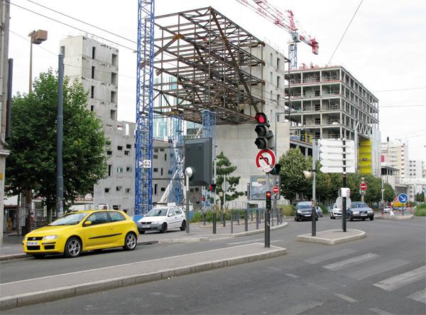 Ilôt Grüner, ciudad administrativa de Manuelle Gautrand