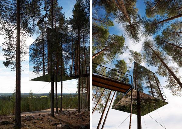 Treehotel, en el bosque ártico de Suecia