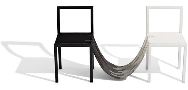 Christina Liljenberg Halstrøm, muebles de madera y lana