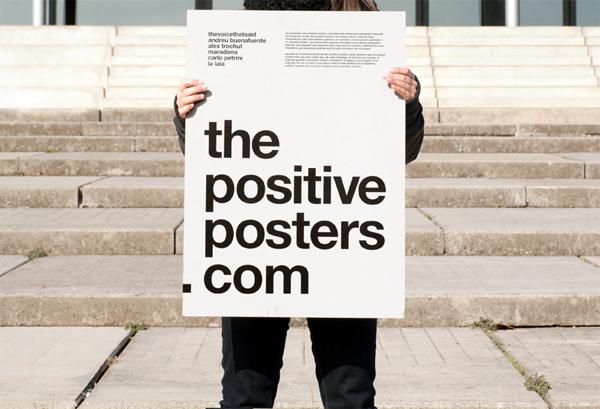 Positive posters por Bisgrafic