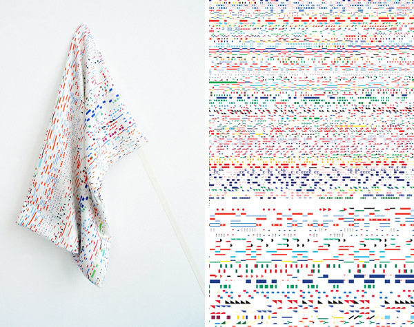 The Daily Pattern, diseño textil de Zara Atelj