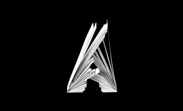 Tipografía en papel de Jérôme Corgier