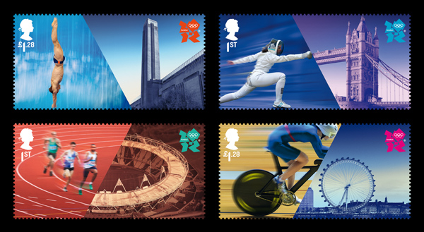 Olympics stamps-