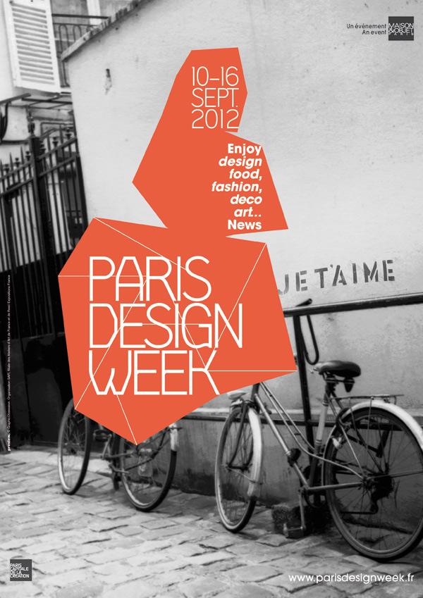 """""""La segunda edición de la París Design Week que contará con más de 150 iniciativas en diferentes lugares de la ciudad de Paris.""""  Paris Design Week, diseño y tendencias S12 PDW CMJN visuel presse"""