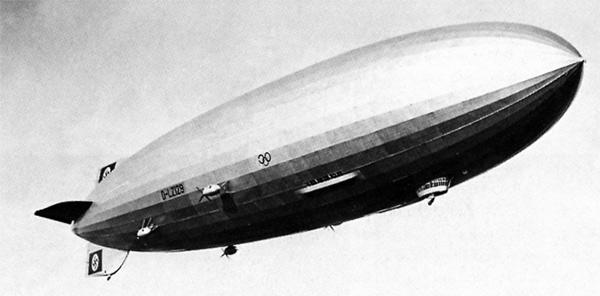 Zeppelin, diseño aeronáutico