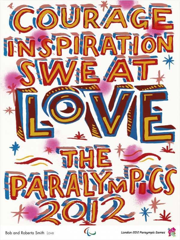 JJOO London 2012, Bob y Roberta Smith, Patrick Brill, Love