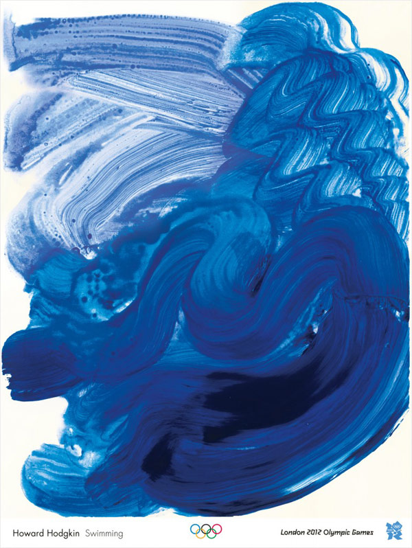 JJOO London 2012, Howard Hodgkin, Swimming.