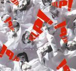 Cartel Save Paper, campaña de ahorro de papel, Freeman Lau, 2002.