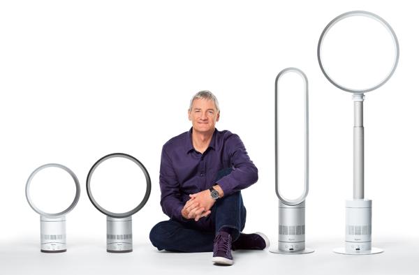 El ventilador sin aspas de Dyson