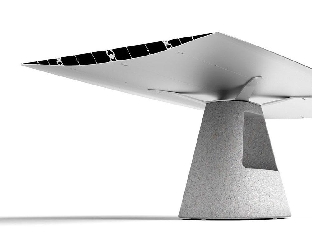 Levedad para un nuevo diseño: Table B, mesa de Konstantin Grcic