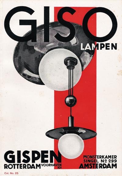 Willem Gispen: un diseñador  neerlandés moderno
