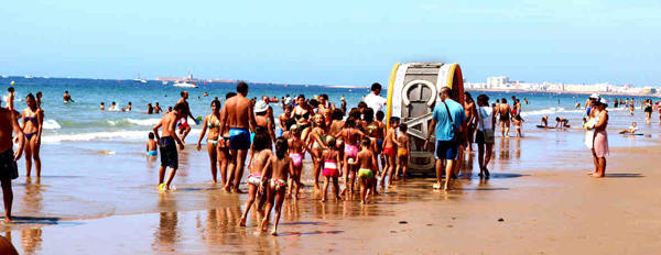 Sandprint, comunicación ecológica en las playas de Cádiz