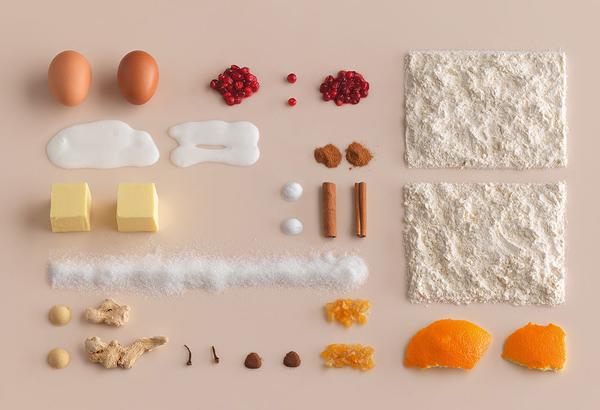 Diseñar con la comida, el libro de recetas de Ikea