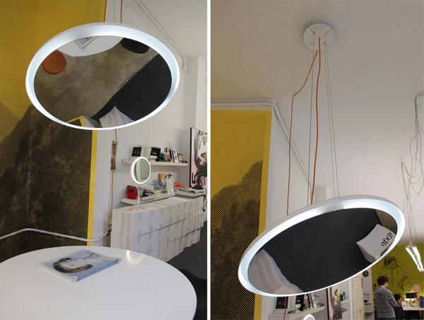 Shineout, al otro lado de la lámpara espejo