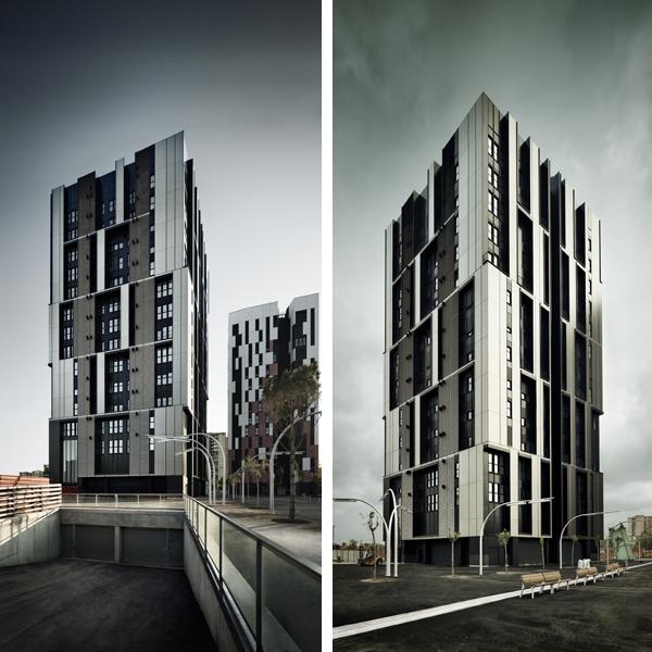 Comunidad vertical de vecinos en Barcelona, de Roldán + Berengué
