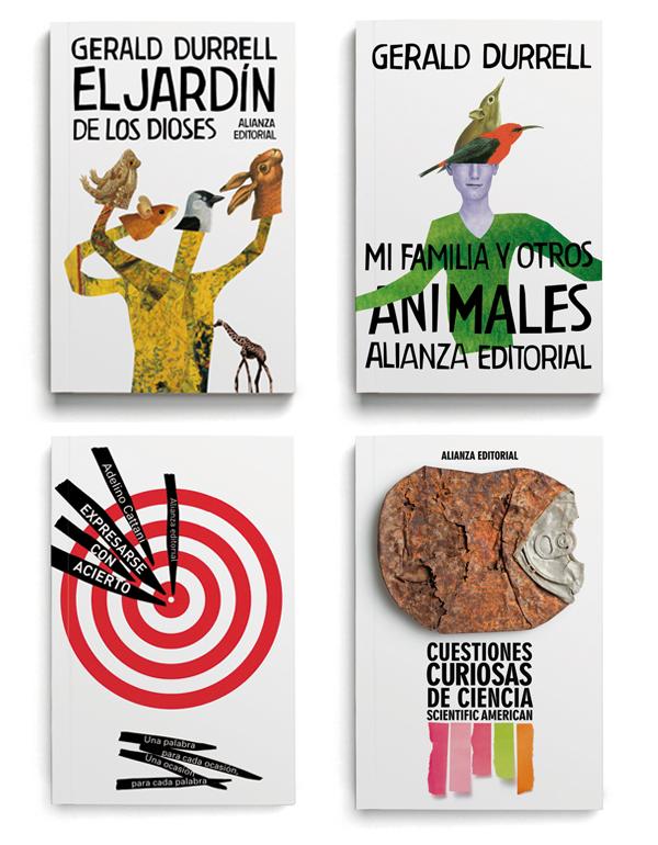 Manuel Estrada rediseña los libros de bolsillo de Alianza Editorial