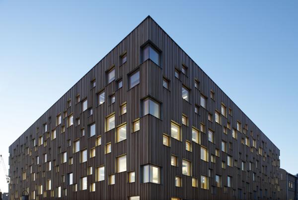 Escuela de arquitectura de Umeå, en Suecia