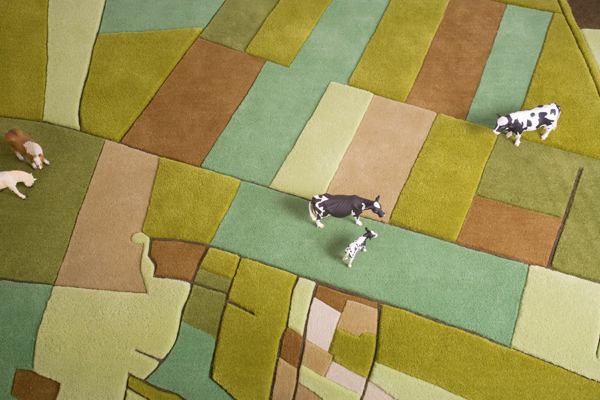 Landcarpet, alfombras a vista de pájaro