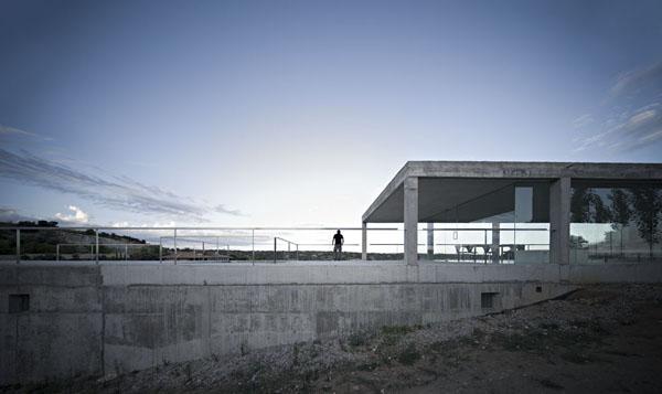 La arquitectura preside la naturaleza, Casa Rufo de Campo Baeza