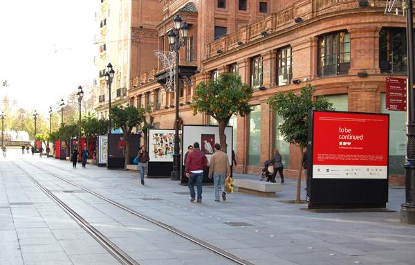 To be continued… gráfica solidaria en las calles de Sevilla