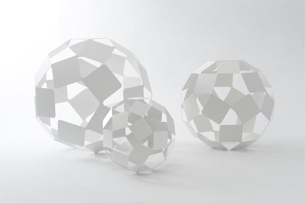 Nendo diseña Dancing Squares, cómo congelar el movimiento
