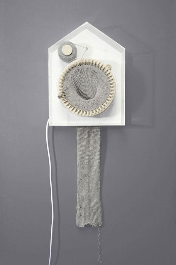 Tejer el tiempo, 365 Knitting Clock