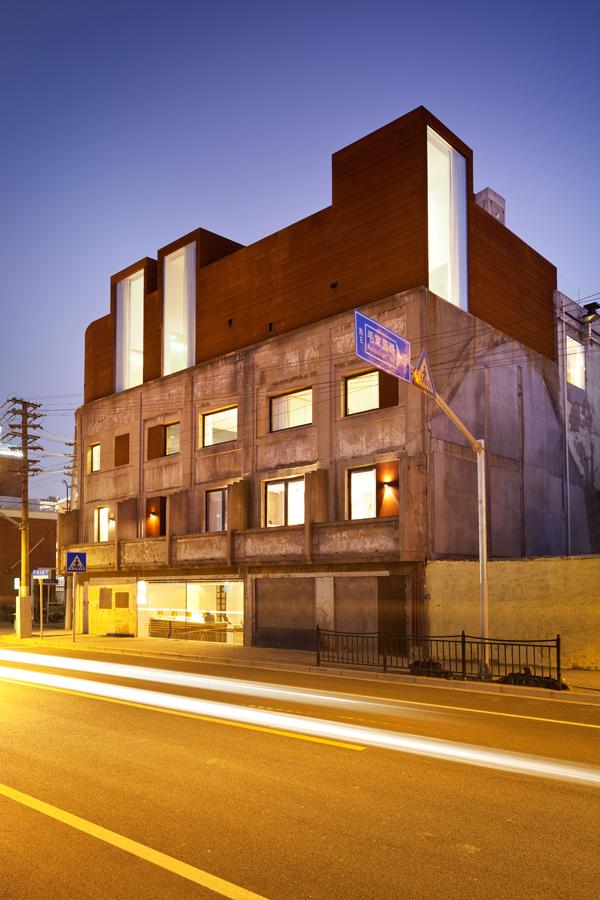Hotel Waterhouse de Neri & Hu, refugio industrial en Shangai