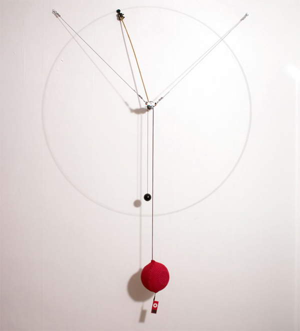 Altavoz cinético, diseño de Toer Studio