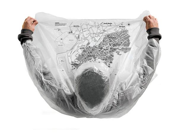 F33 Grupo, comunicar la creatividad con un mapa impermeable