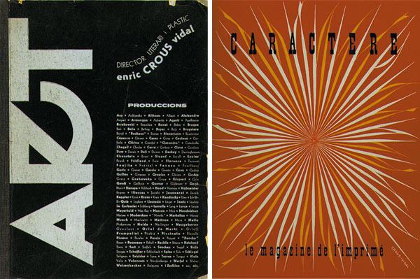 Enric Crous-Vidal, de la publicidad a la tipografía