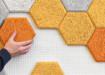 Hexagon, paneles sostenibles que mejoran la acústica