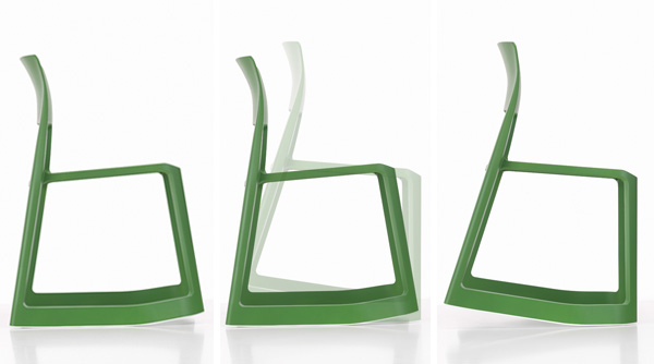 Tip ton, silla dinámica de Edward Barber y Jay Osgerby para Vitra
