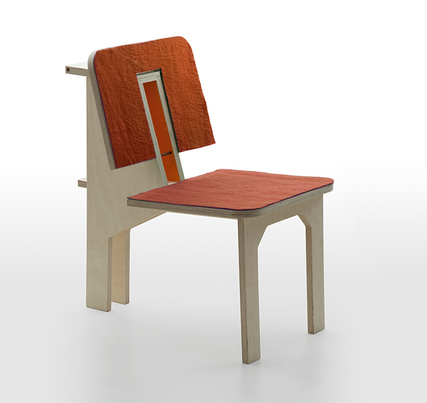 Double Chair de Matali Crasset, para Danese Milano