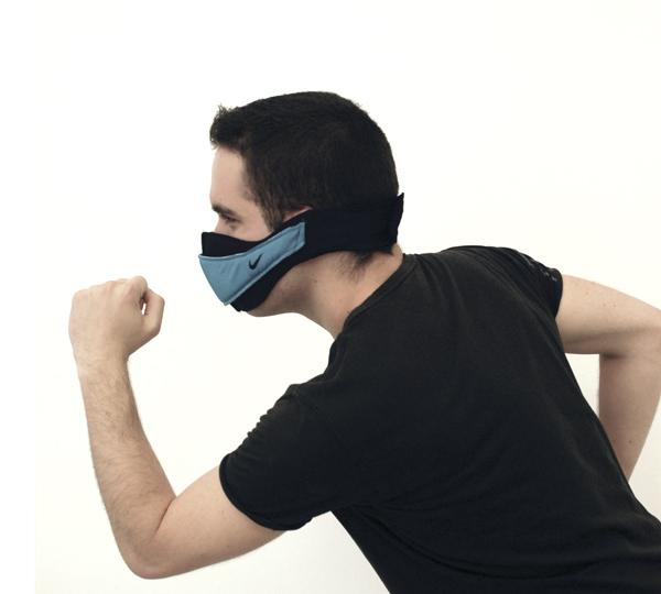 Andrea Génova, mascarilla Unveiled contra la contaminación urbana