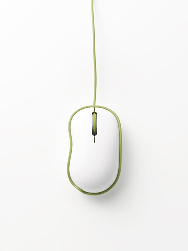 Rinkak de Nendo, la silueta de un ratón
