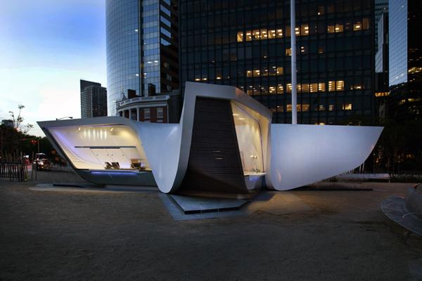 New Amsterdam Plein & Pavilion, UNStudio para NYC