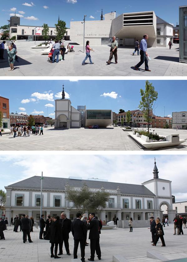 FÜNDC, Nuevo centro histórico en Pozuelo de Alarcón