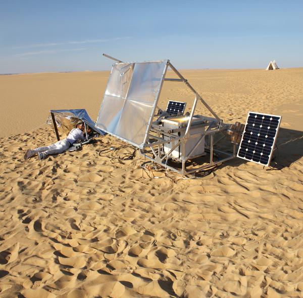 Solar Sinter, tecnología 3D para la producción de vidrio