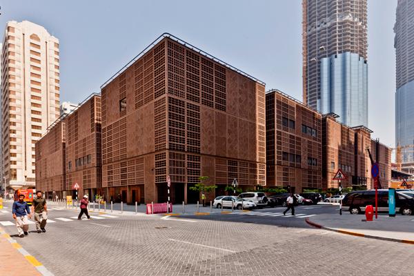 Foster + Partners diseña un zoco árabe en Abu Dhabi