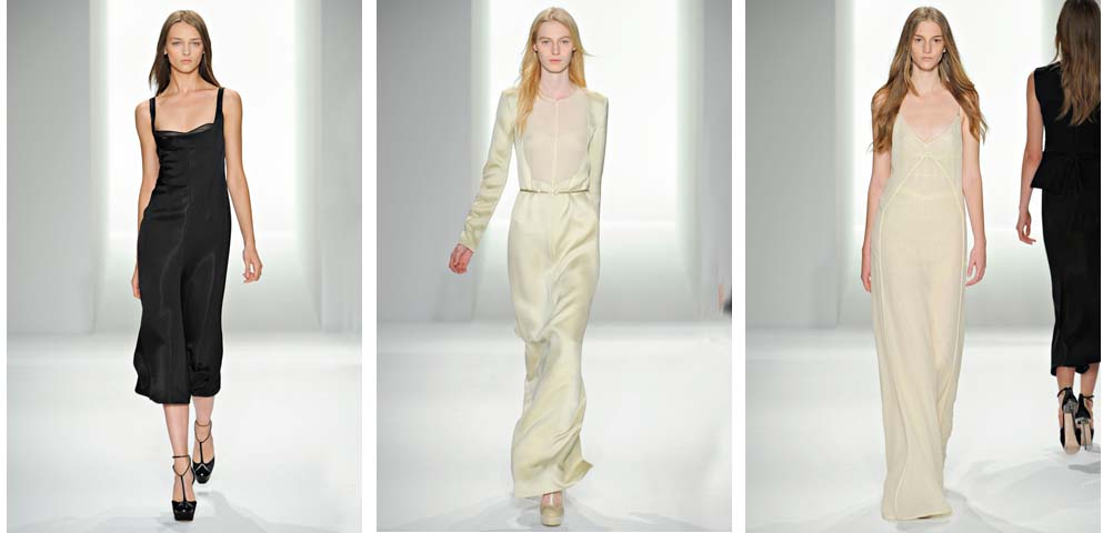 My views on Fashion/9 Minimalismo. Francisco Costa para CALVIN KLEIN