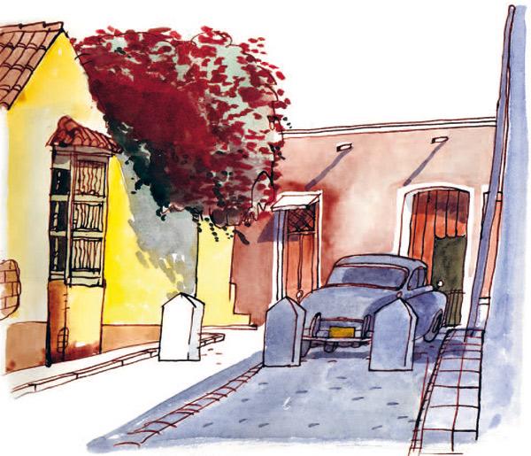 Enrique Flores: ilustración, acuarela y Movimiento 15M