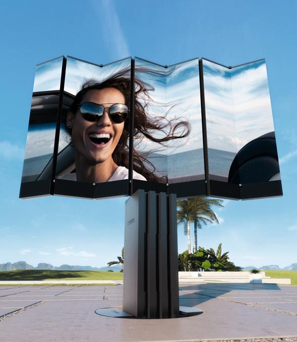 C SEED 201, televisor de grandes dimensiones para exteriores