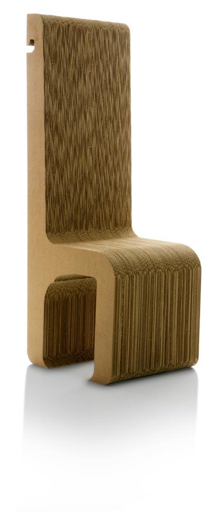 Una silla ecológica para sentirse como un rey
