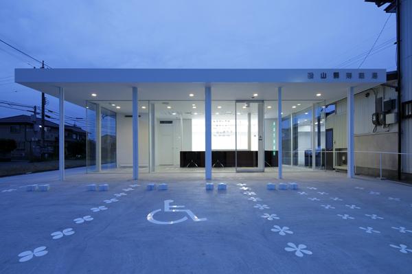 Spacespace proyecta una farmacia en Isoyama, Japón