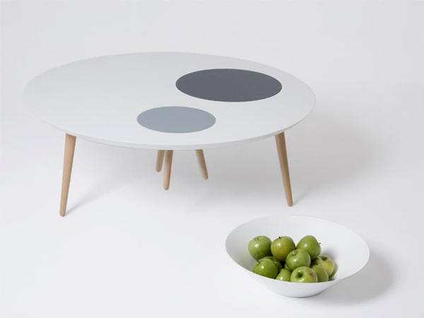 3×3, mesa de centro modular del estudio 3patas
